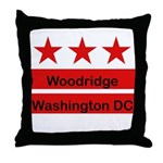 Woodridge - D.C . Flag Inspir Throw Pillow