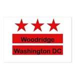 Woodridge - D.C . Flag Inspir Postcards (Package o