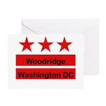 Woodridge - D.C . Flag Inspir Greeting Card