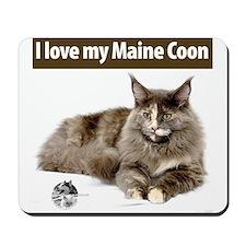 Maine Coon Cat Mousepad