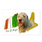 8 - Irish Wolfhound Erin Go Bragh Postcards