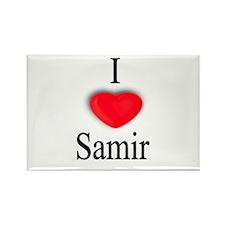 Samir Rectangle Magnet