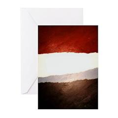 Robin Abstract yule card (10)