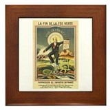 French Absinthe Prohibition Framed Tile
