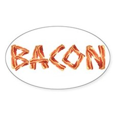 BACON Oval Decal