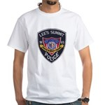 Lee's Summit Missouri Police White T-Shirt