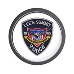 Lee's Summit Missouri Police Wall Clock