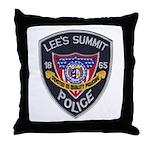 Lee's Summit Missouri Police Throw Pillow