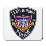Lee's Summit Missouri Police Mousepad