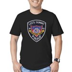 Lee's Summit Missouri Police Men's Fitted T-Shirt