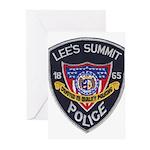 Lee's Summit Missouri Police Greeting Cards (Pk of