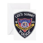 Lee's Summit Missouri Police Greeting Card