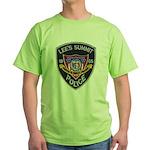 Lee's Summit Missouri Police Green T-Shirt