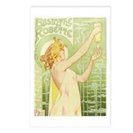 Absinthe Robette Postcards (Package of 8)