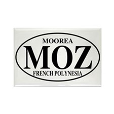 MOZ Moorea Rectangle Magnet (10 pack)