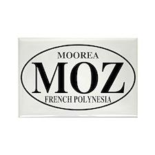 MOZ Moorea Rectangle Magnet (100 pack)