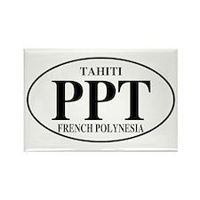 PPT Tahiti Rectangle Magnet