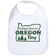 Everyone Loves an Oregon Boy Bib