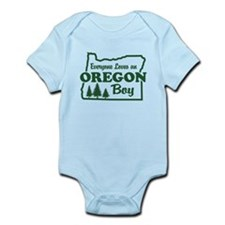 Everyone Loves an Oregon Boy Infant Bodysuit
