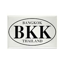 BKK Bangkok Rectangle Magnet (100 pack)