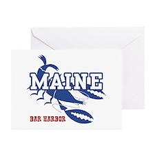 Maine Bar harbor Greeting Cards (Pk of 10)