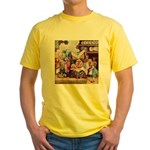 ALICE & THE DUCHESS Yellow T-Shirt
