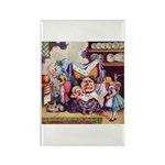 ALICE & THE DUCHESS Rectangle Magnet (100 pack)