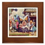 ALICE & THE DUCHESS Framed Tile