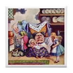 ALICE & THE DUCHESS Tile Coaster