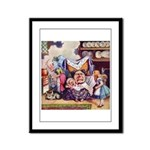 ALICE & THE DUCHESS Framed Panel Print