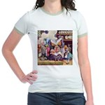 ALICE & THE DUCHESS Jr. Ringer T-Shirt