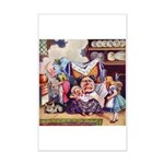 ALICE & THE DUCHESS Mini Poster Print
