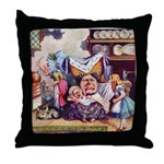 ALICE & THE DUCHESS Throw Pillow