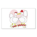 Be Mine Valentine! Rectangle Sticker 10 pk)