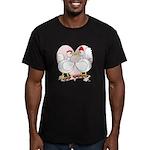 Be Mine Valentine! Men's Fitted T-Shirt (dark)