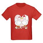 Be Mine Valentine! Kids Dark T-Shirt