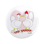 """Be Mine Valentine! 3.5"""" Button (100 pack)"""