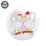 """Be Mine Valentine! 3.5"""" Button (10 pack)"""