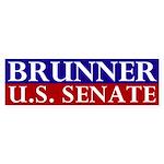 Jennifer Brunner for Senate Bumper Sticker