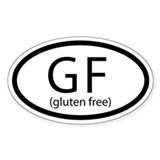 Gluten Free Car Decal