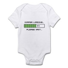 Diaper Loading Infant Bodysuit