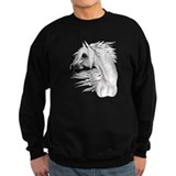 Leopard Appy and White Feathe Sweatshirt