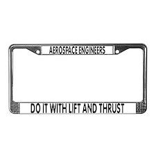 Unique List License Plate Frame