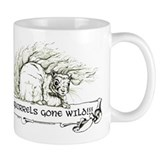 Squirrels Gone Wild - Nature Small Mug