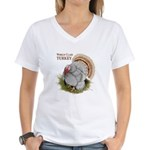 World Class Turkey Women's V-Neck T-Shirt