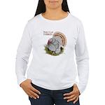 World Class Turkey Women's Long Sleeve T-Shirt