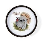 World Class Turkey Wall Clock