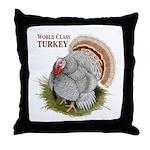 World Class Turkey Throw Pillow