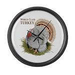 World Class Turkey Large Wall Clock