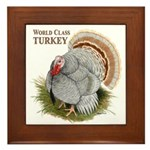 World Class Turkey Framed Tile